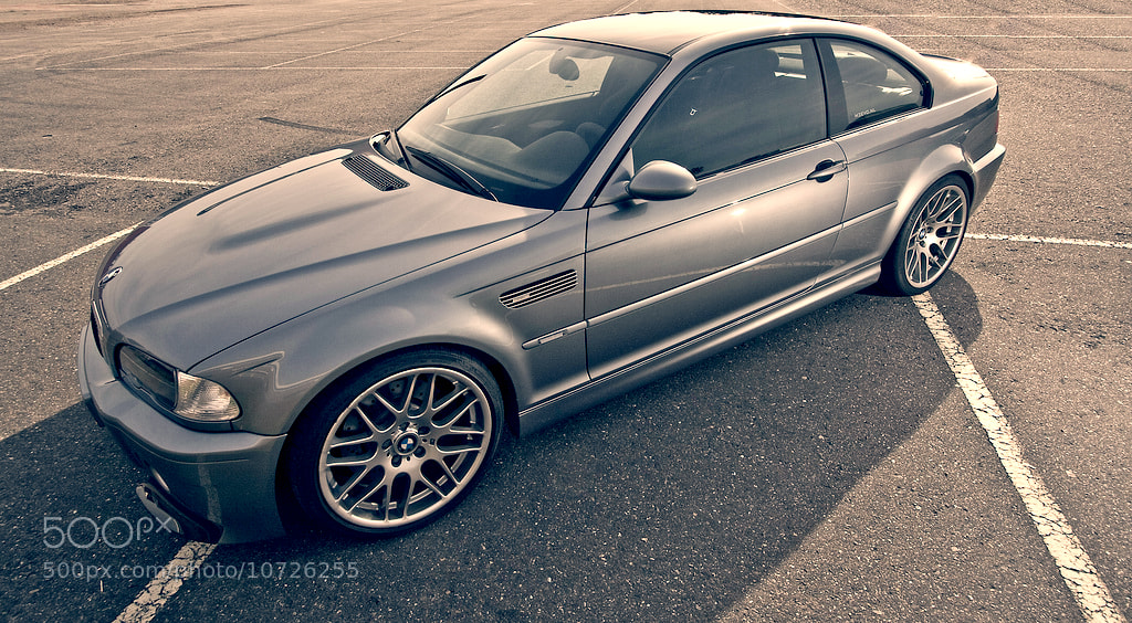 Photograph BMW E46 M3 shoot by Robin Hartog on 500px
