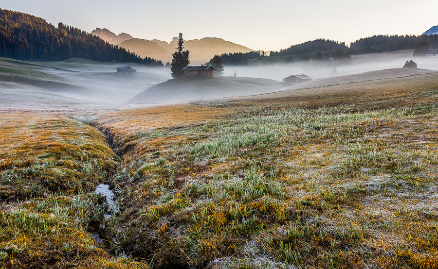 """<a href=""""http://www.hanskrusephotography.com/Workshops/Dolomites-Workshop-Oct-8-12-12/18012376_JfTs4d#!i=1948524041&k=HcXnVKd&lb=1&s=A"""">See a larger version here</a>  This photo was taken during a photo workshop that I led in the Dolomites in October 2011."""
