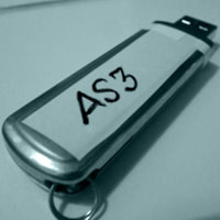 Actionscript 3 dedicated USB key