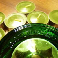 Green Candles For Green Glass Iittala
