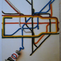 London tube map 2004