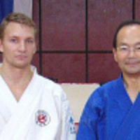 Nanbu doshu and Paasonen shidoin in Banja Luka