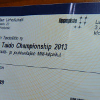 Taido World Championships Ticket