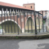 The covered bridge of Pavia, Italy