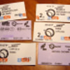 Tickets used in Paris