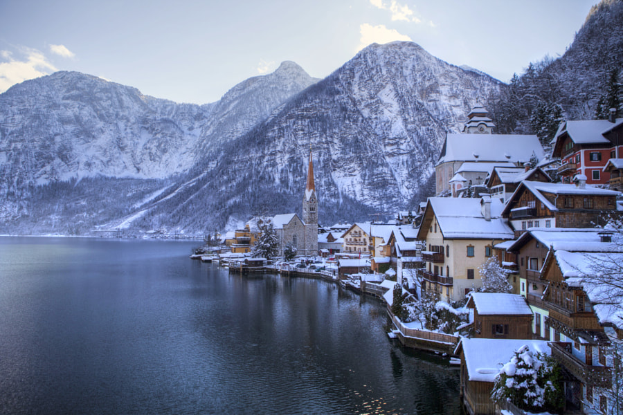 White Hallstatt by Béla Török on 500px.com
