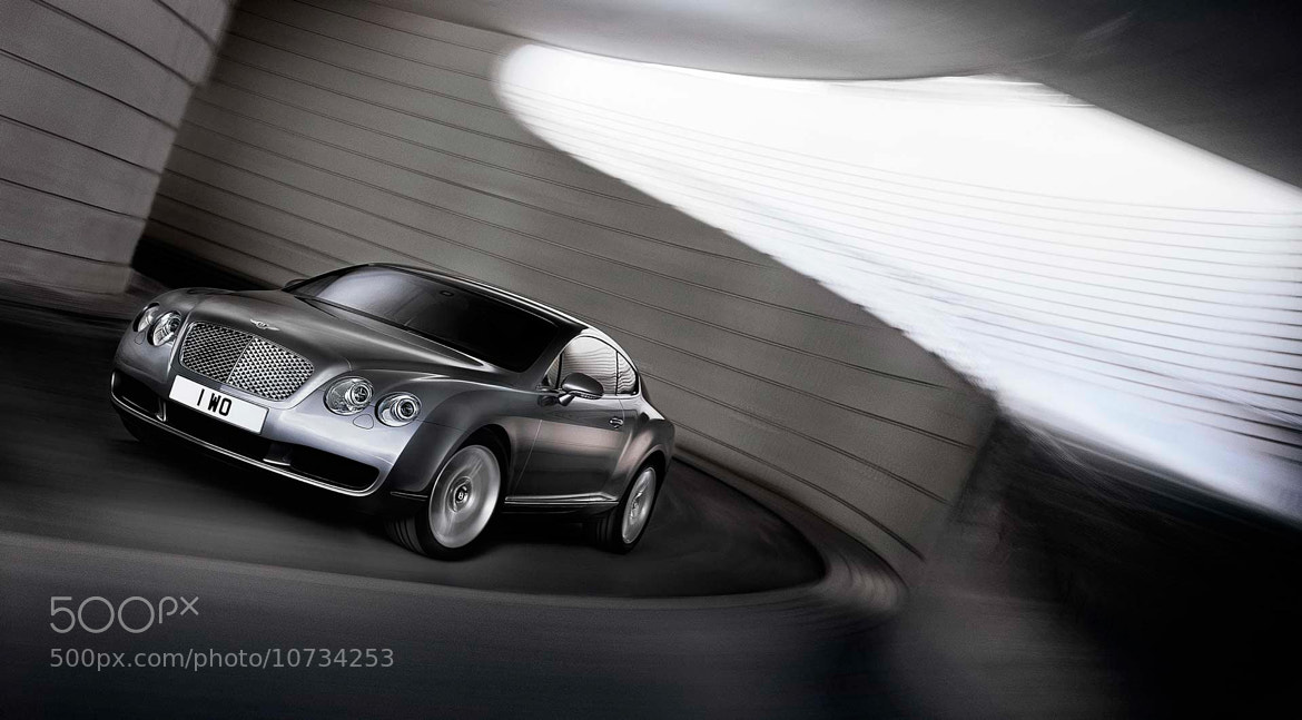 Photograph Bentley GT Continental  by Nigel Harniman on 500px