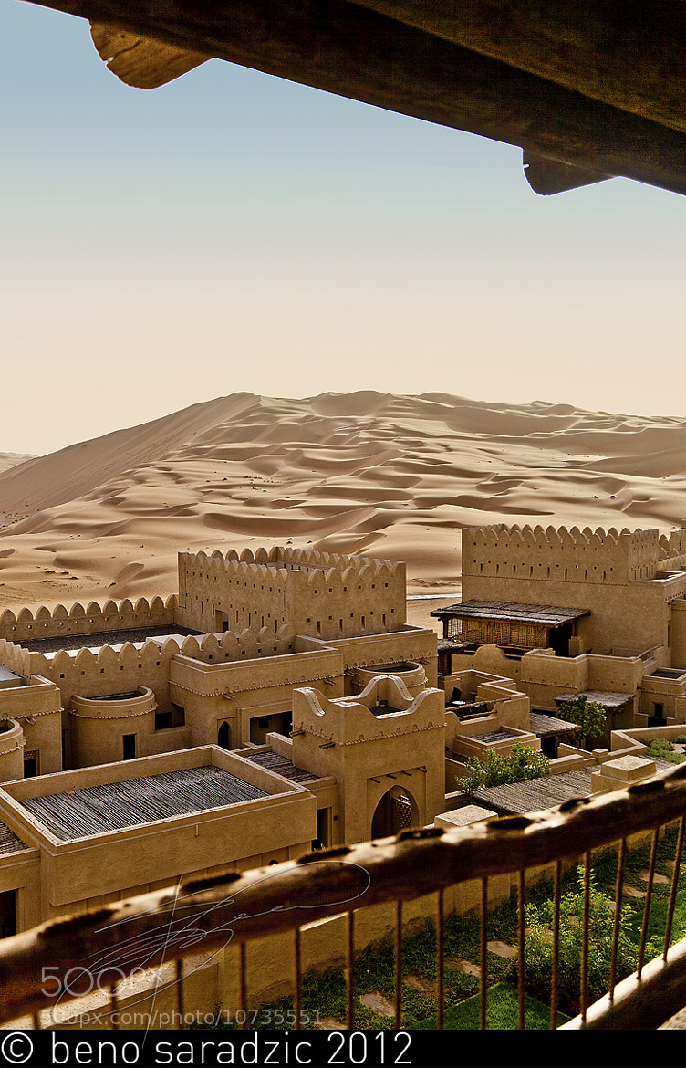 Photograph Qasr Al Sarab - The View by Beno Saradzic on 500px