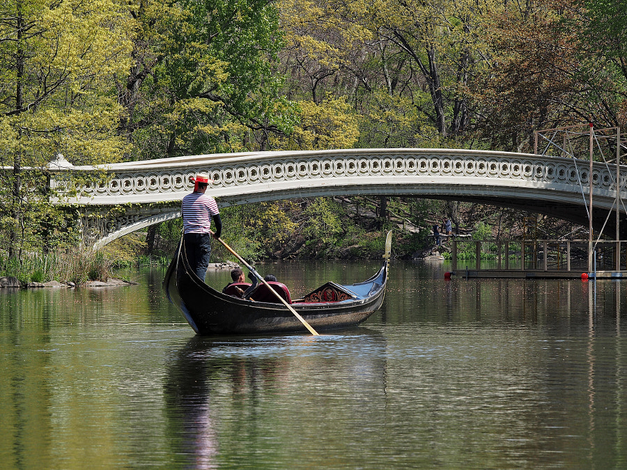Photograph A Gondola in Central Park by Nancy Lundebjerg on 500px