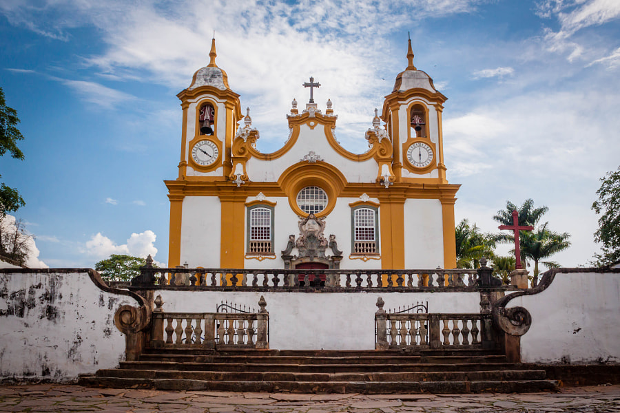 Church of the Tiradentes city by Roberto Da Silva on 500px.com