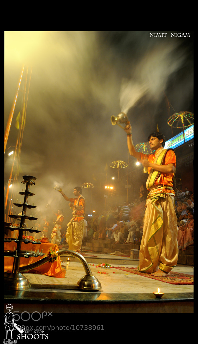 Photograph Evening Aarti... by Nimit Nigam on 500px