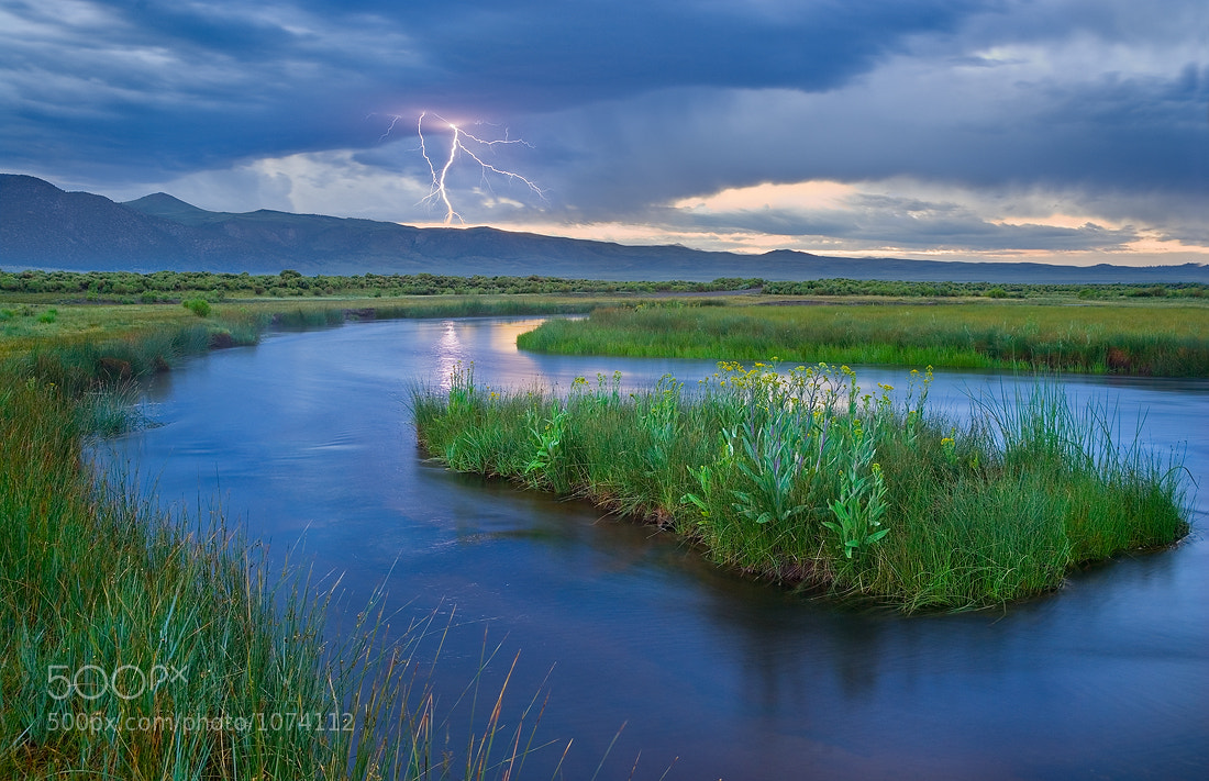 Photograph Benton Crossing Summer Storm by Mark Geistweite on 500px