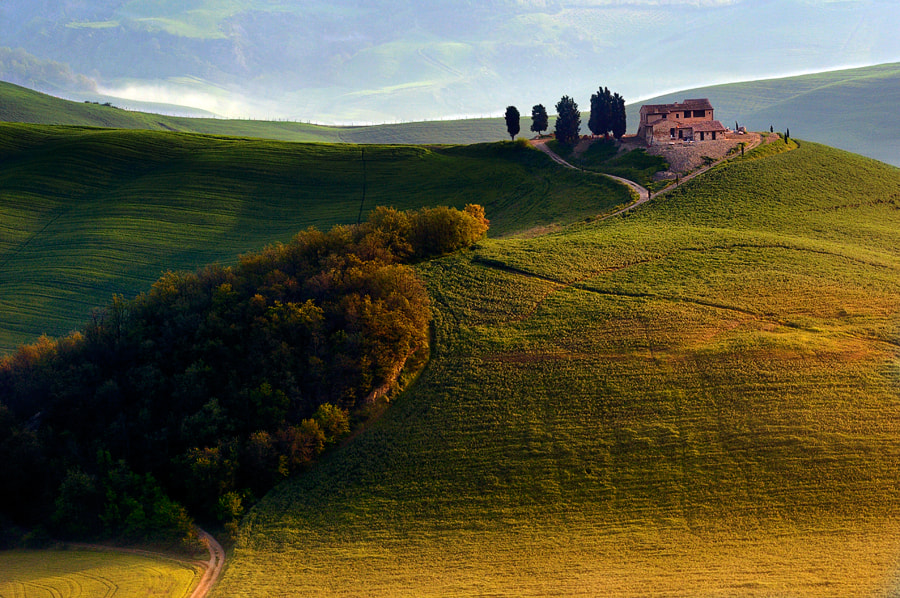 Photograph Evening hills by Izidor Gasperlin on 500px