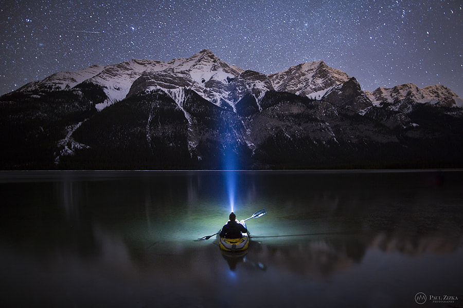 Starlight Paddle by Paul Zizka on 500px.com