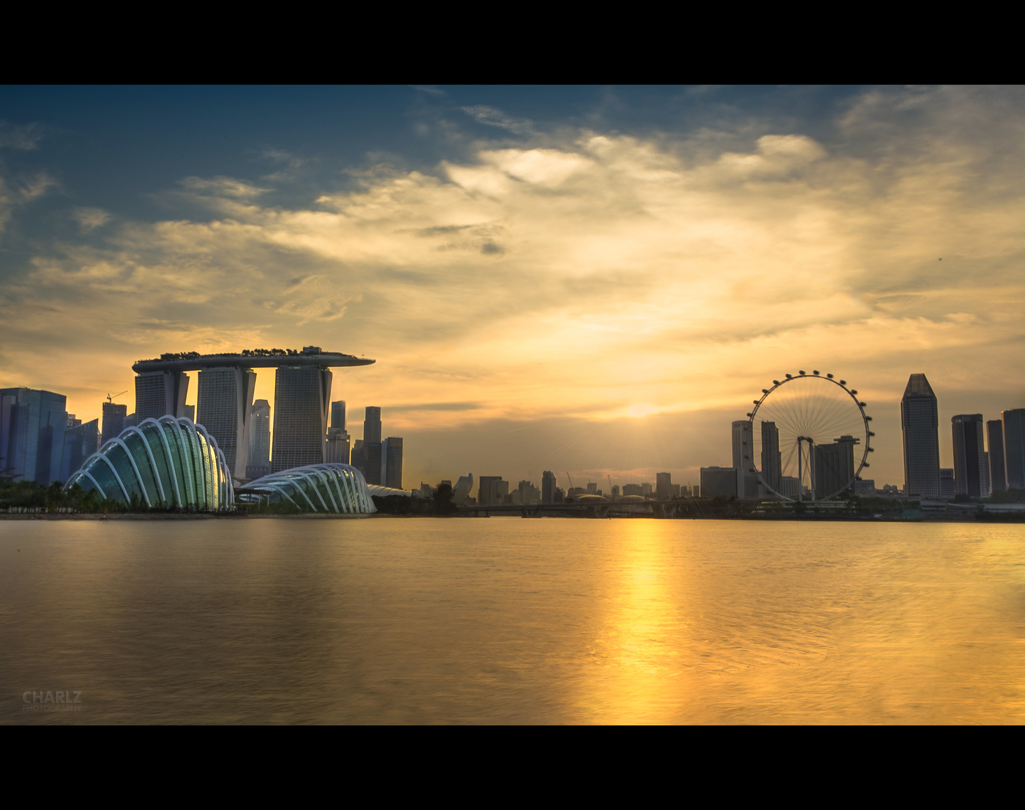 Photograph Marina Bay Golden Hour by Charlz Photography on 500px