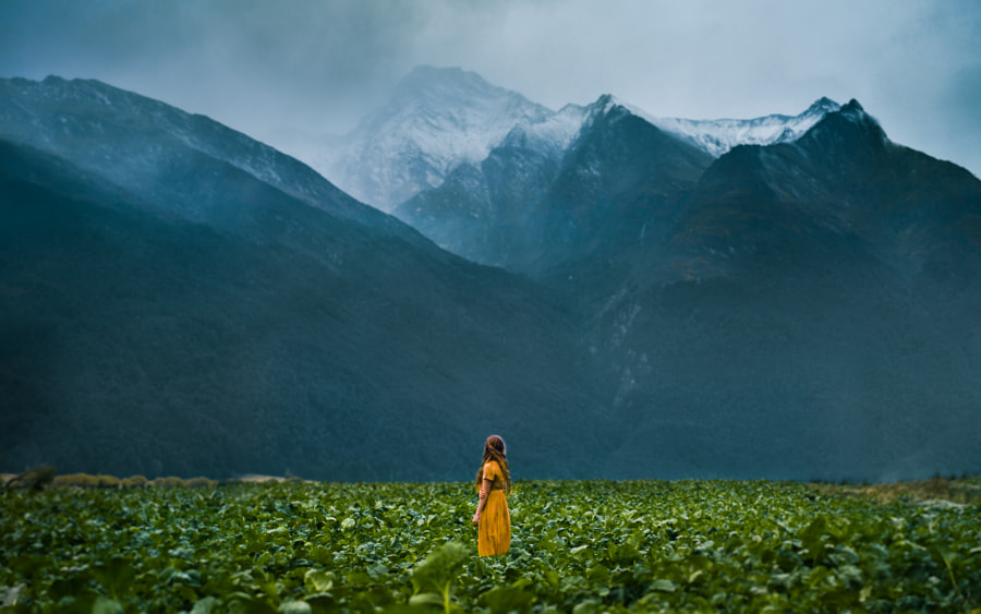 Photograph The Mountains Softly Whisper by Lizzy Gadd on 500px