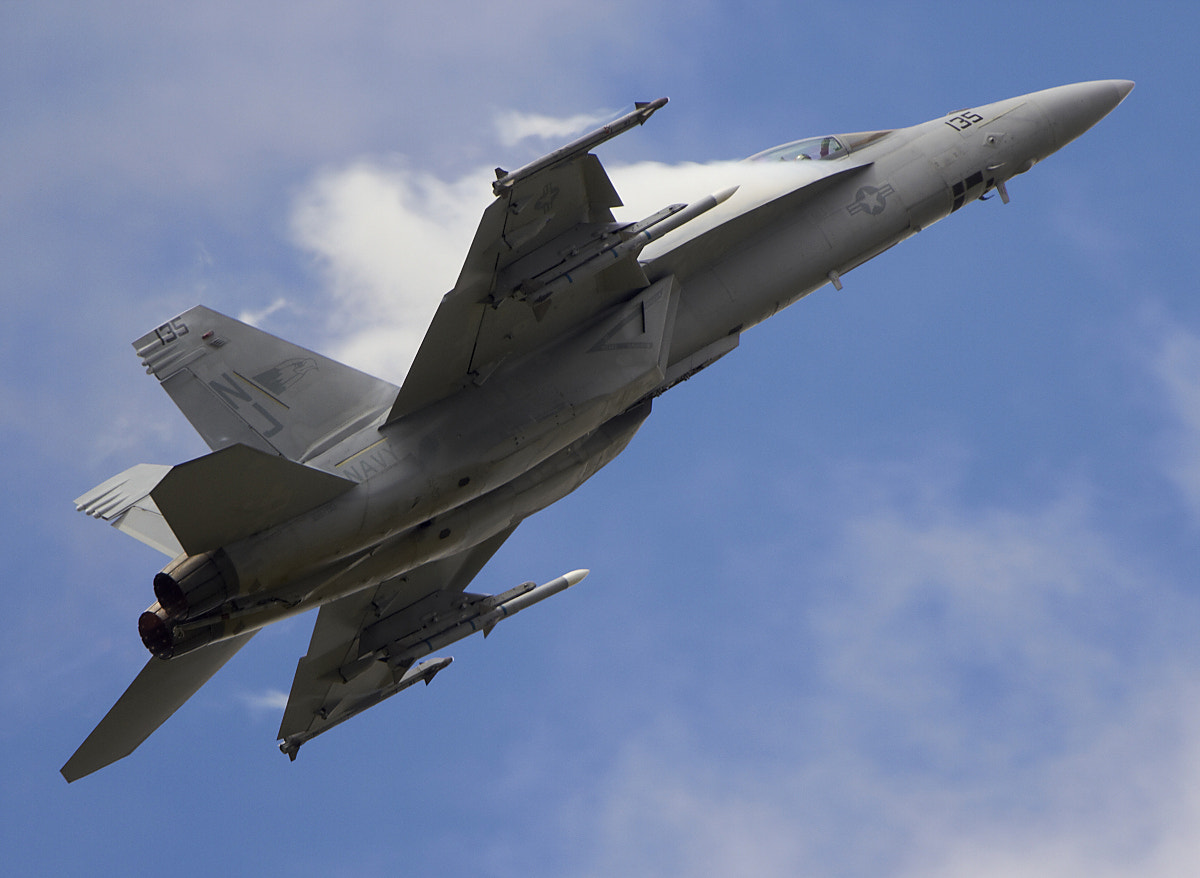Photograph USN F/A-18 Super Hornet by Bernie Condon on 500px