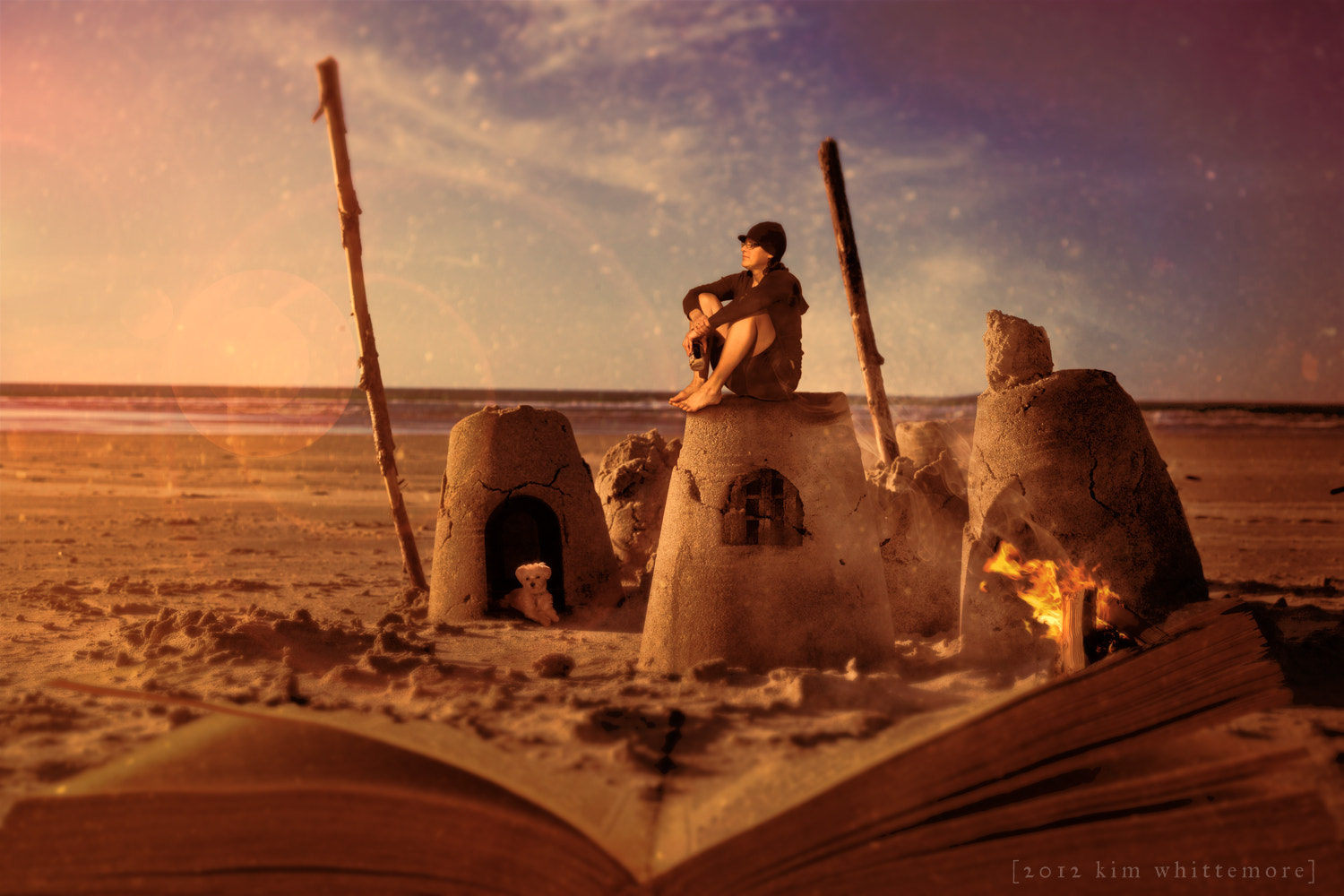 Photograph Sand Castle by Kim Whittemore on 500px