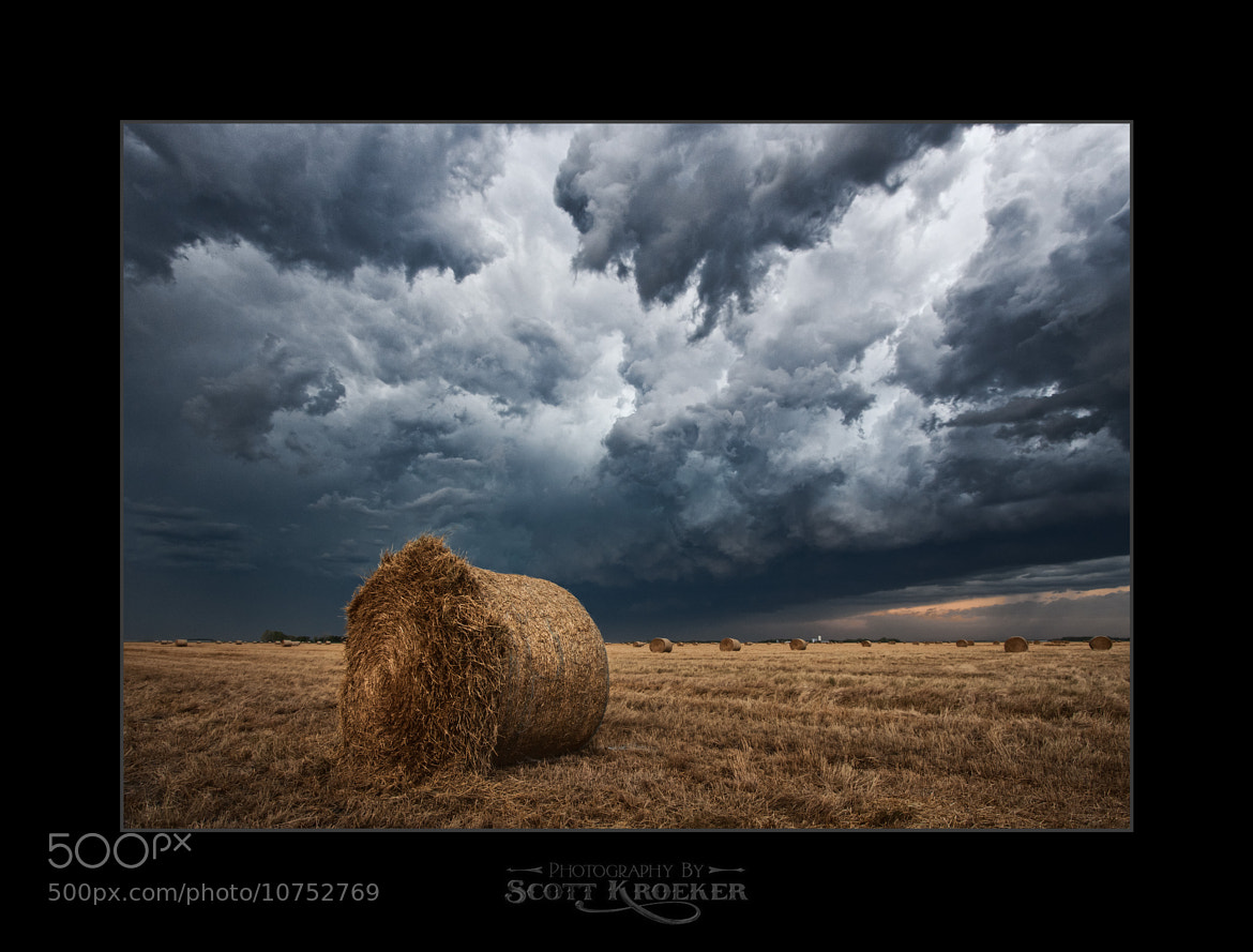 Photograph Bale Blow Out by Scott Kroeker on 500px