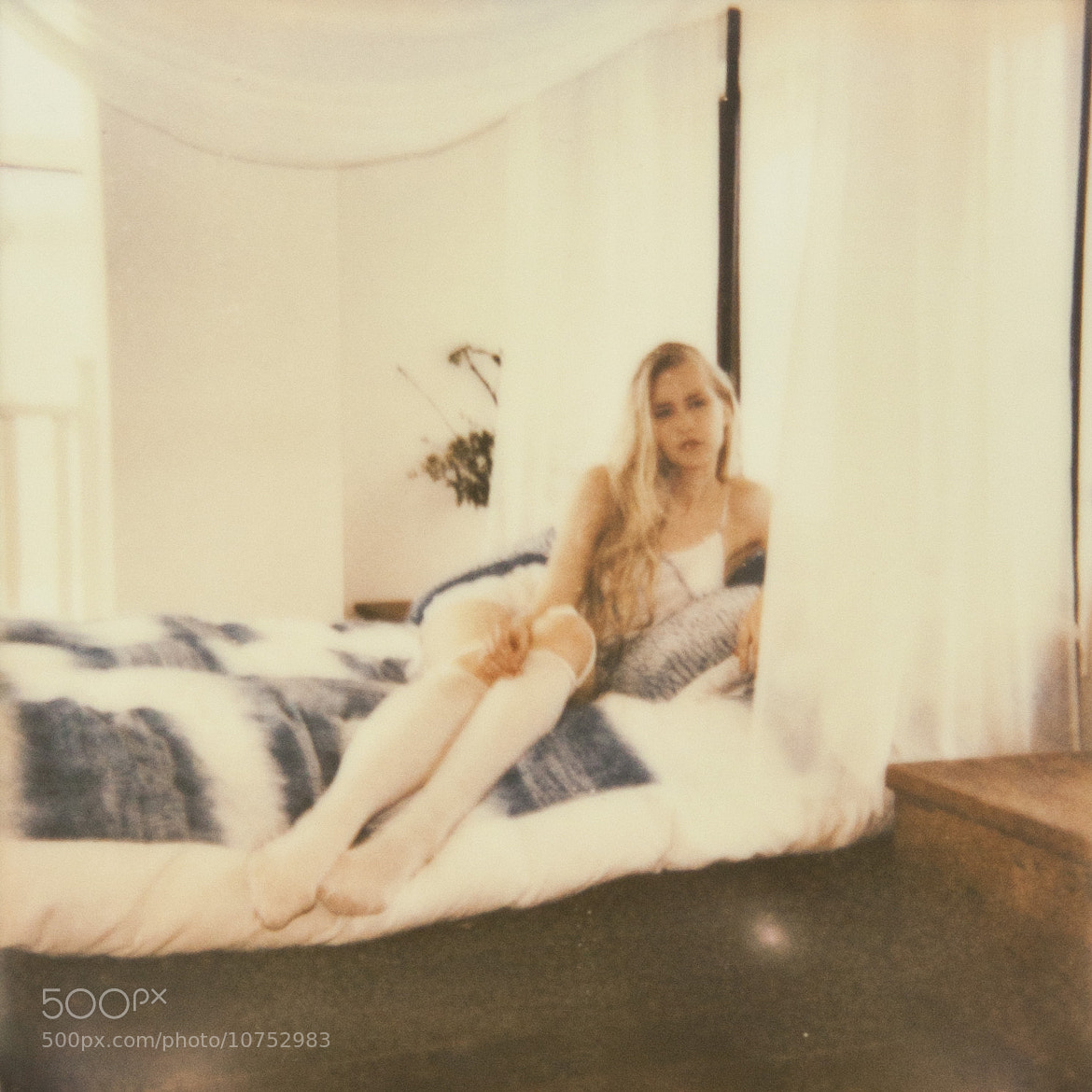 Photograph Polaroids Justine Johnson's Lingerie shoot by Steve Ray 8) on 500px