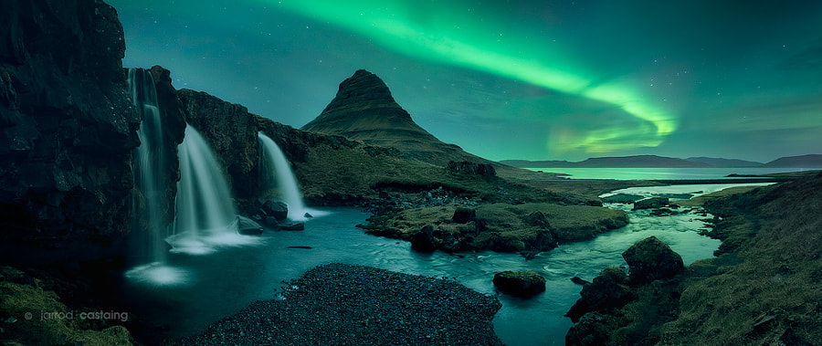 Photograph Kirkjufell by Night by Jarrod Castaing on 500px
