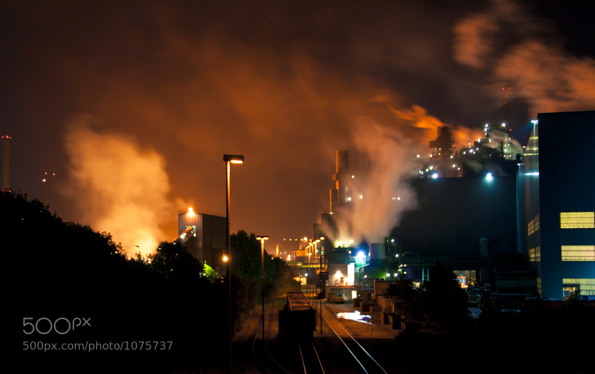 Photograph burning steel 24/7 II by Jan W on 500px