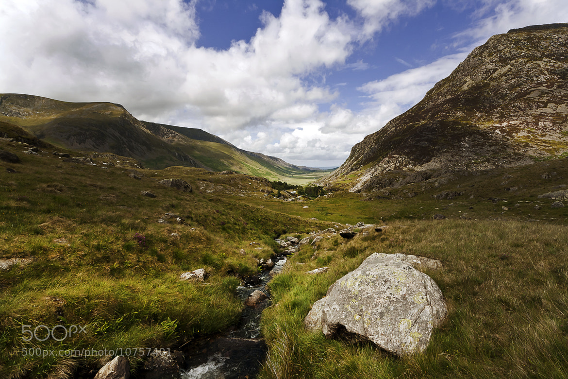 Photograph snowdonia valley by Russell Algar on 500px
