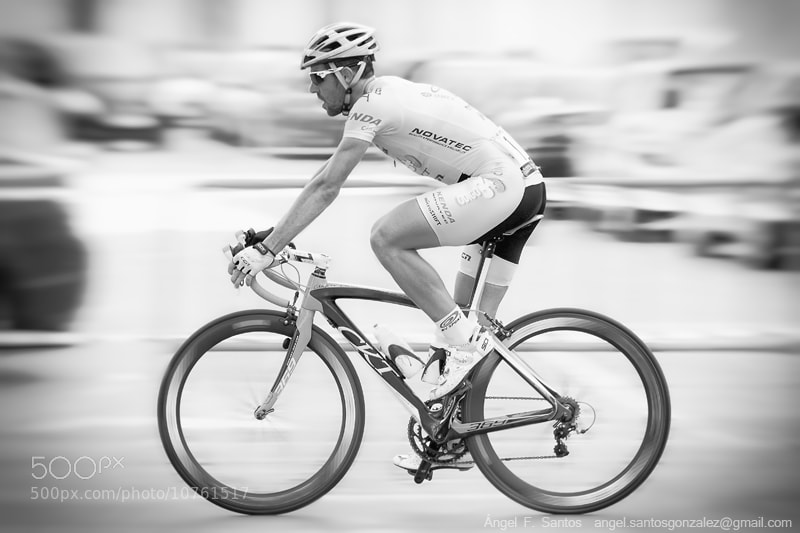 Photograph Cyclist by Angel Santos on 500px