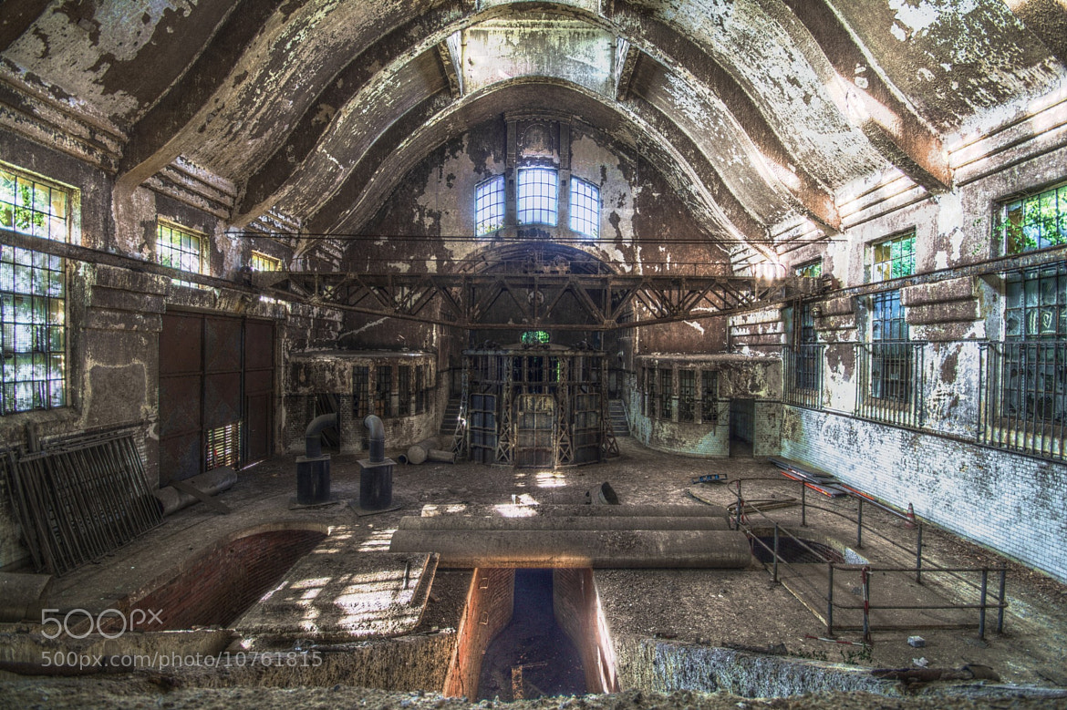 Photograph Abandoned Sewage Plant by Licht Bringer on 500px