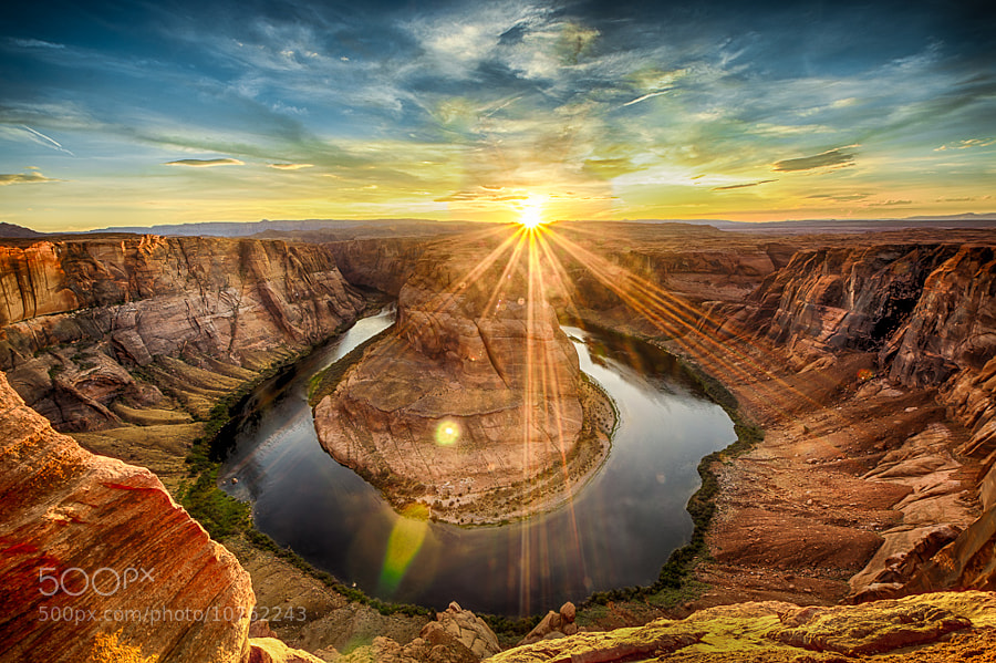 Photograph Horshoe Bend Sunset by Jon Adams on 500px