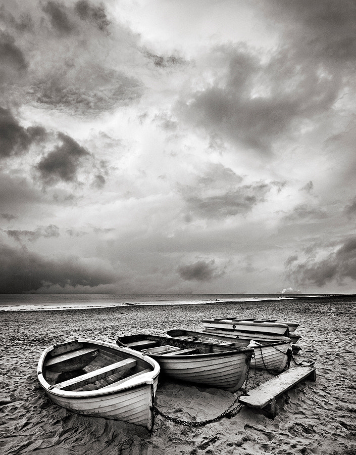 Photograph Boats On A Beach by Martin Wait on 500px