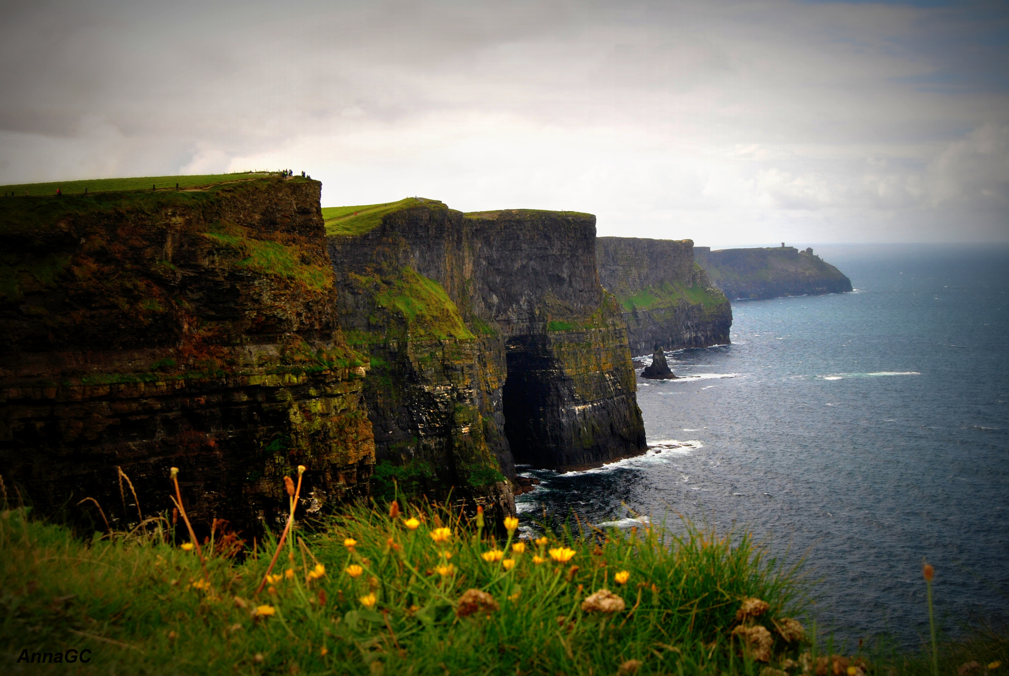 Photograph Amazing experience at Cliffs of Moher by Anna Garcia on 500px
