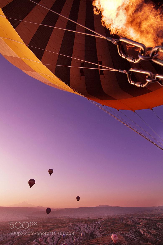Photograph baloon fire! by Giacomo Nodari on 500px