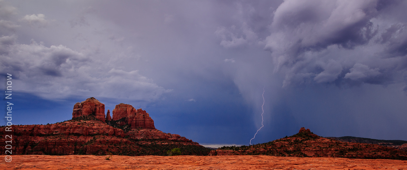 Photograph Storm over Cathedral Rock by Rodney Ninow on 500px