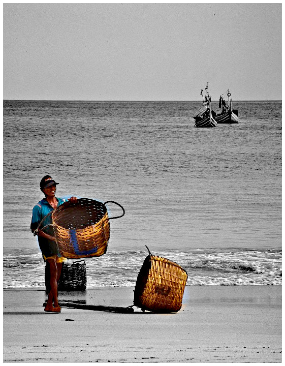 Photograph Bali fisherman by John Barker on 500px
