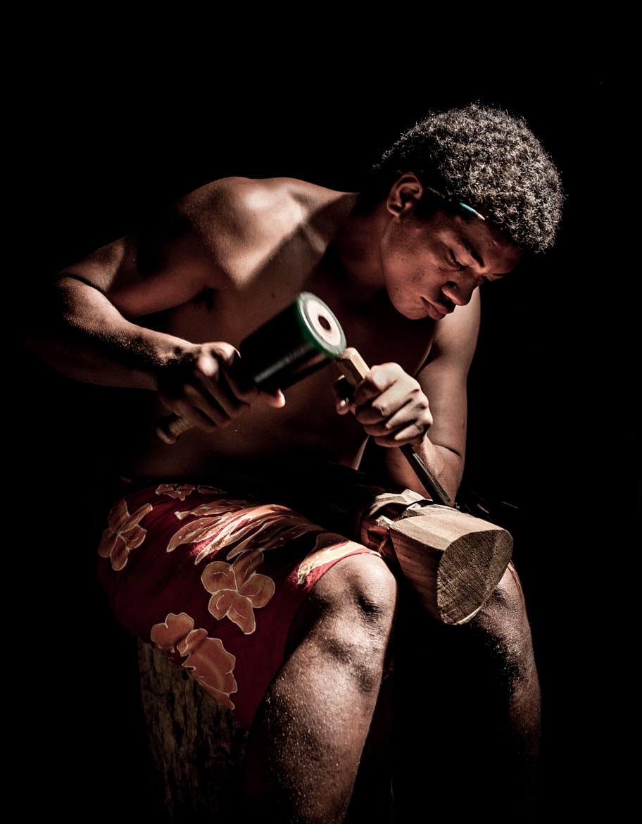 Photograph Tiki Carver by Dave Wilson on 500px