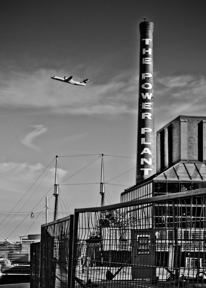 Photograph 0166 Plane flew over the Power Plant by Raymond Huynh on 500px