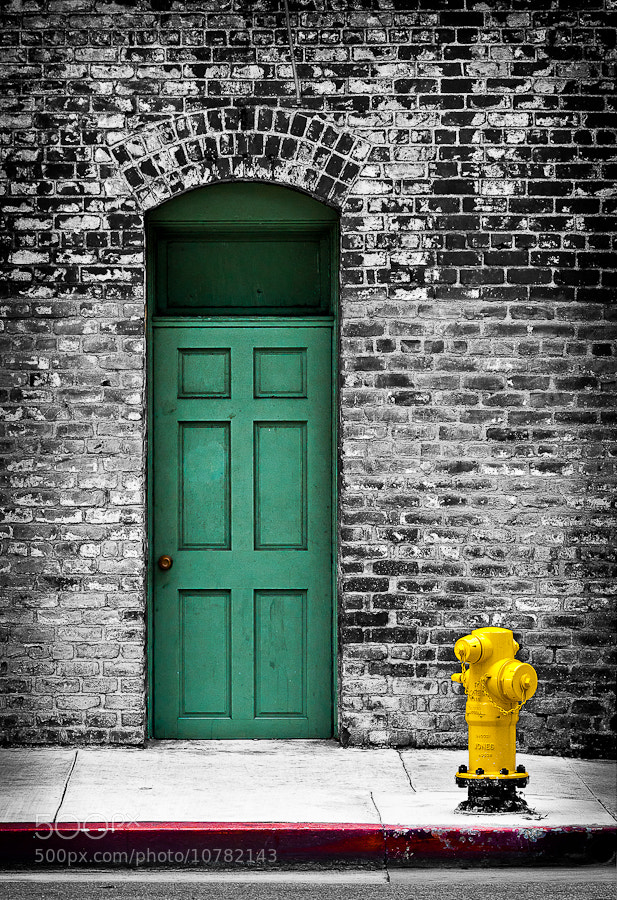 Photograph Behind The Green Door by Marc Shur on 500px