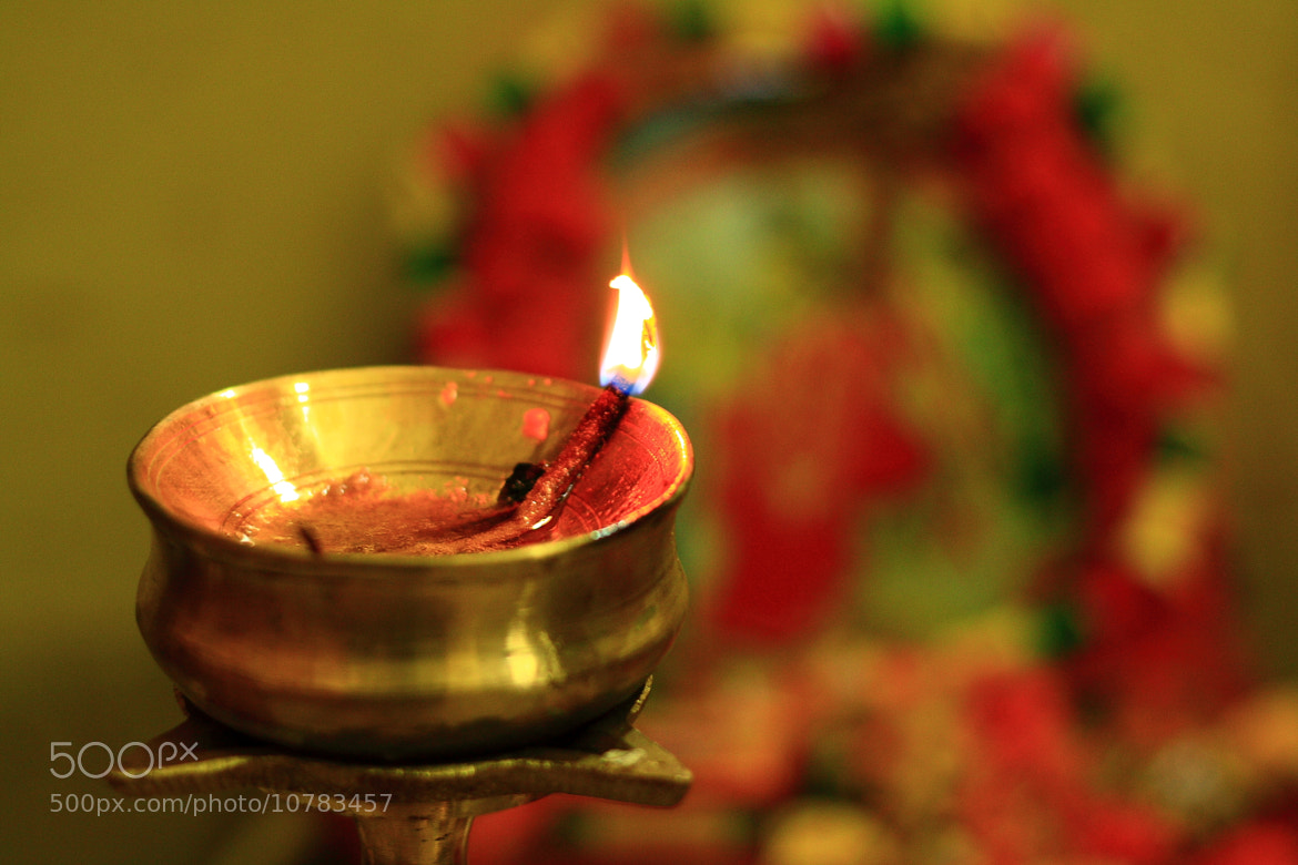 Photograph holy lamp by Pranab Ghosh on 500px