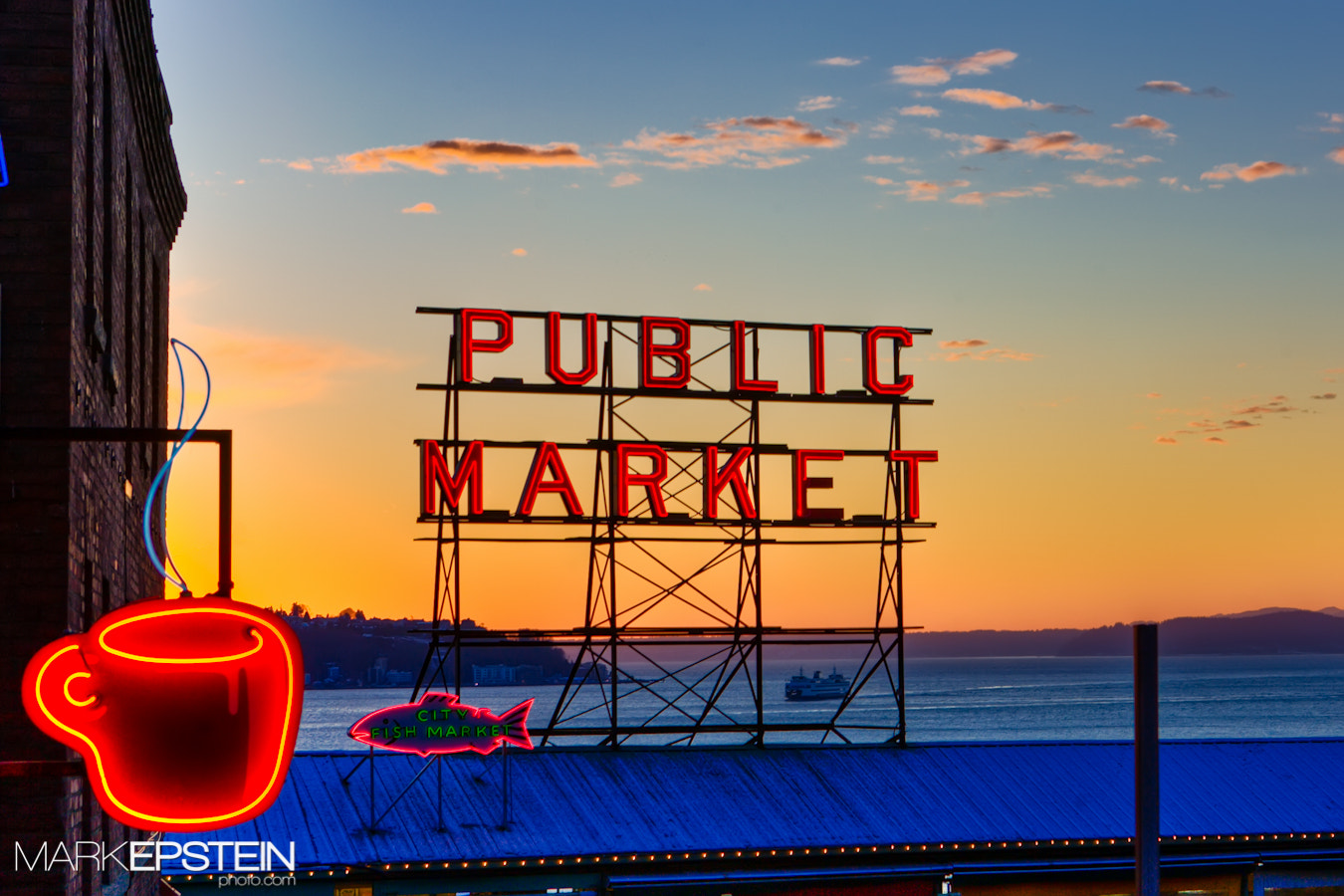 Photograph Sunset at the Market by Mark Epstein on 500px