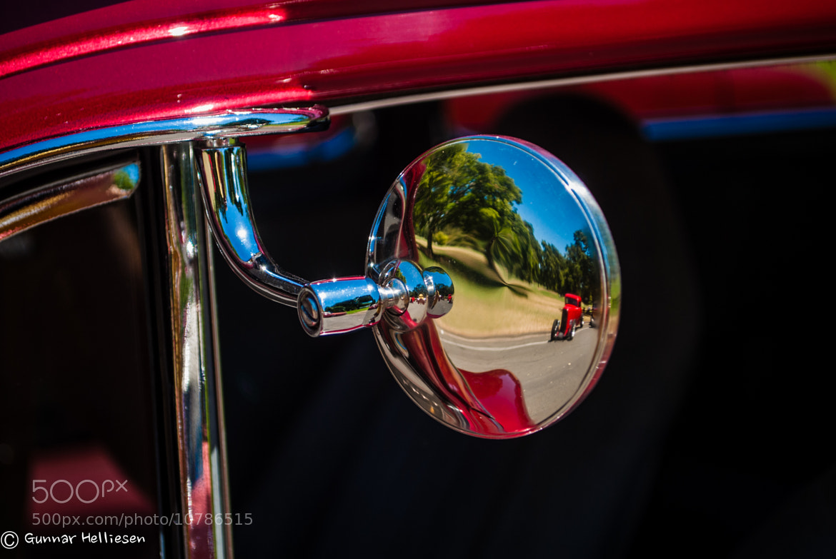 Photograph lil red rod by Gunnar Helliesen on 500px