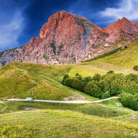 My camper on the Gran Sasso (TE) by Giuseppe  Peppoloni (giuseppepeppoloni)) on 500px.com