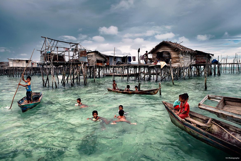 Photograph bajau sea life by Lau Yew Hung on 500px