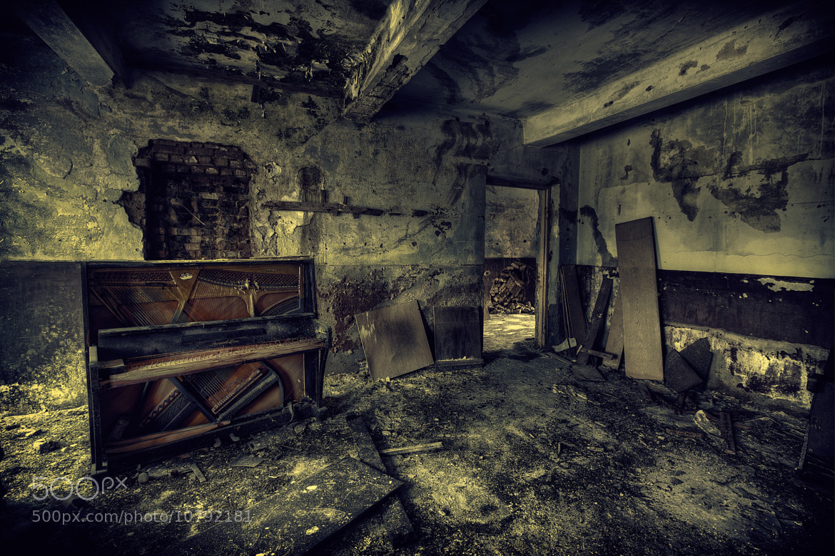 Photograph The Music does not live here anymore! by Roland Shainidze on 500px
