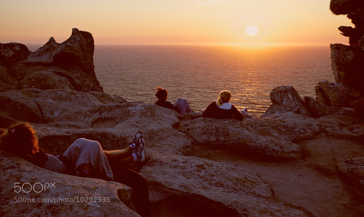 Photograph Watching the Sunset from Alto do Principe by Jonathan Pincas on 500px