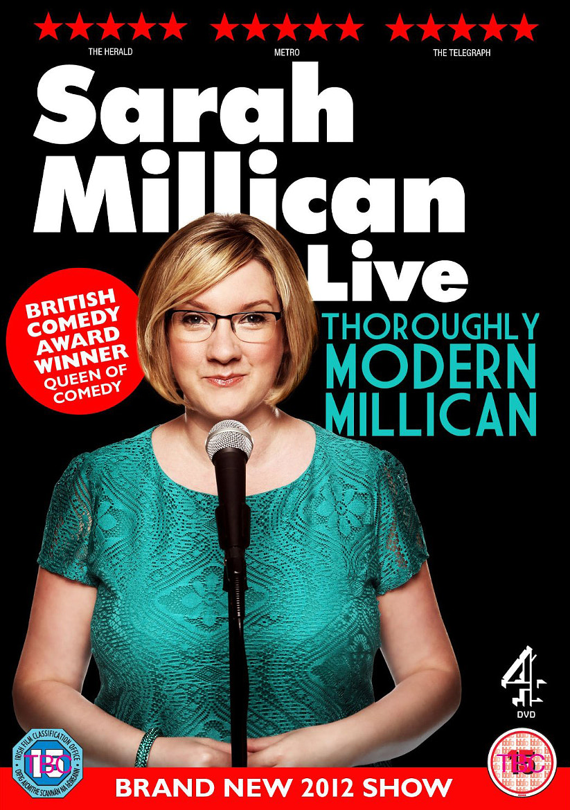 Photograph sarah millican > 'thoroughly modern millican' dvd sleeve >  by Andy Hollingworth on 500px