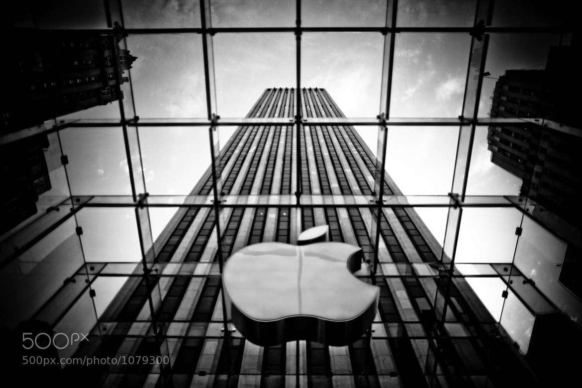 Photograph Apple in the Big Apple by Tony Eccles on 500px