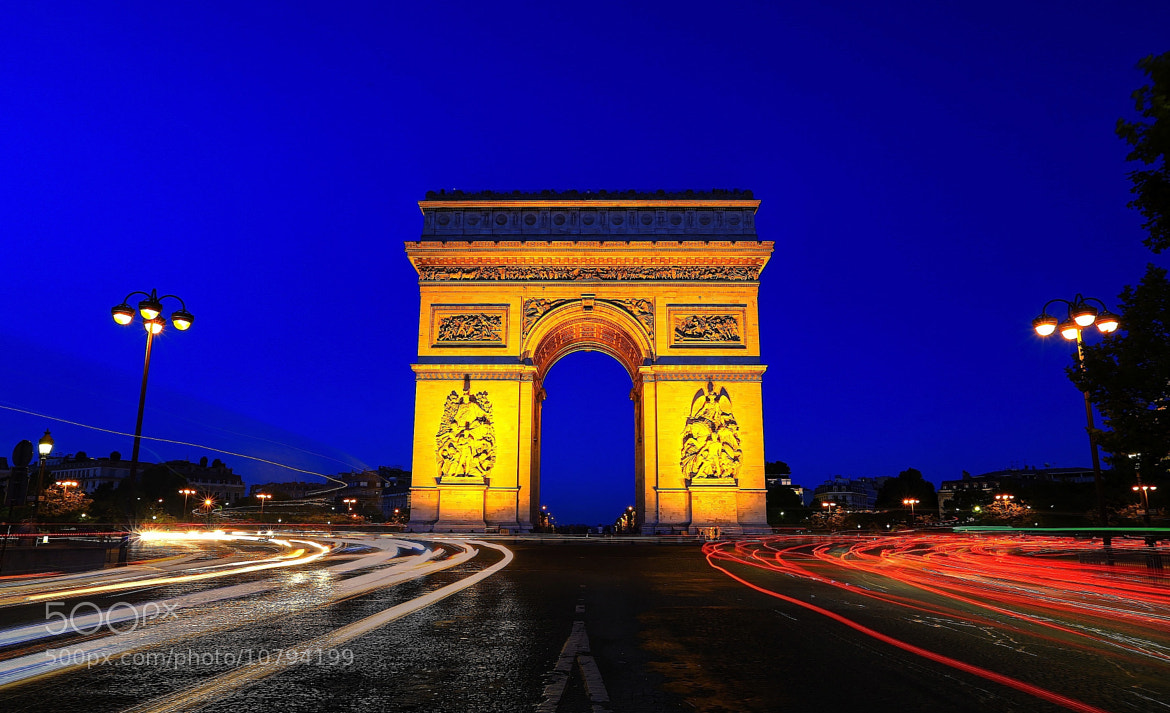 Photograph Blue Hour by Vince Chong on 500px