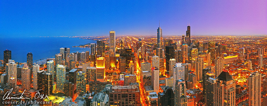Photograph Chicago Skyline Panorama by Christian Öser on 500px