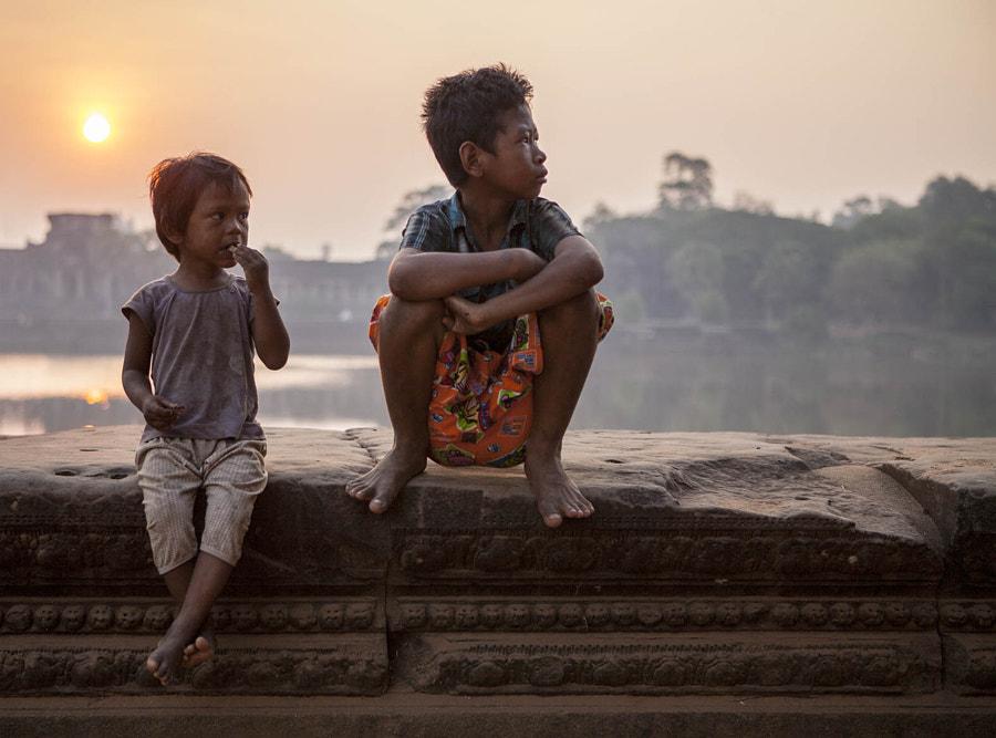 Sunrise. Angkor Wat, Cambodia